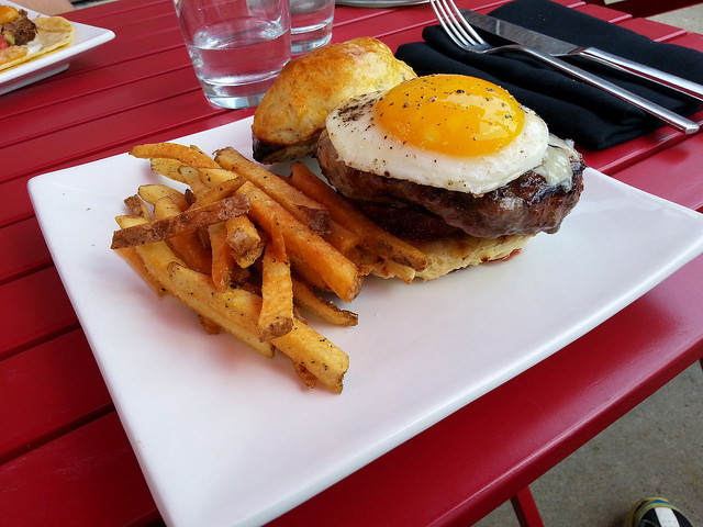 The Root Burger at ROOT174