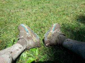 Hoka Stinson Trail after the race