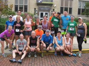 Steel City Road Runners Invasion at Run Around the Square
