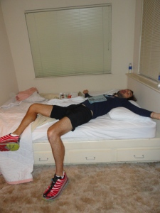 Let's rest before the race!