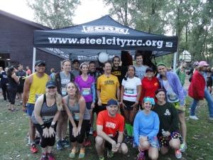 Steel City Road Runners doing Erie Half-Marathon 2014