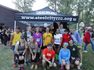 Steel City Road Runners doing Erie Half-Marathon 2014
