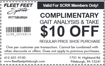 Exclusive discount for SCRR members, forget the 15% at running warehouse we have since several years and that is better!