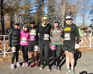 Starting Delaware Half Marathon SCRR style!