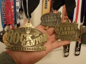 Yep, difficult to compare the Bucky medals with the one from Rock the Canyon ...