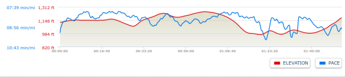 Nittany Valley - Elevation Profile