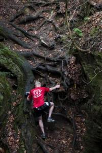 Some root climbing  - Photo by Samantha Goresh