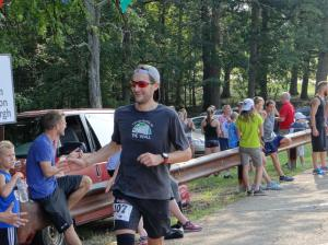 At the finish, supporting the Blerch. Picture courtesy of Mitch Radella
