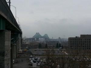 The Jacques Cartier Bridge